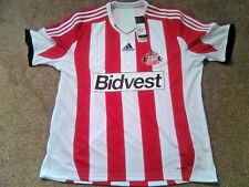 XXXL Sunderland AFC Bidvest Adidas Red/White Home Footy Short Sleeve 2013-14
