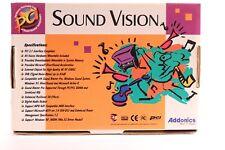 RARE sound vision sv4000 sound card by addonics PCI 2.1 NO.11594 WIN 98