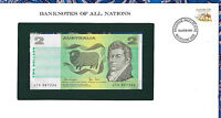 Banknotes of All Nations Australia 2 Dollars 1979 P-43c UNC Knight/Stone JTU