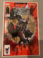 Venom 26 Kael Ngu - ASM 300 Homage Codex Variant - 1st Virus - NM