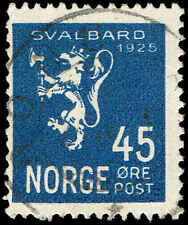 Scott # 114 -1925 - ' Lion Rampant & Svalbard '