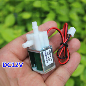 DC 12V Electric Solenoid Valve Water Air Normal Closed Air Water Control Valve
