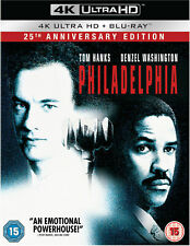 Philadelphia 4k Blu-ray 25th Anniversary Edition (2 Disc Set)