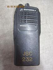 Motorola MTX850 800 MHz Privacy Plus Radio AAH25UCC6GB3AN
