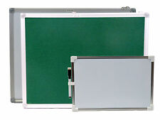 WHITEBOARD DRY WIPE FELTBOARD DISPLAY NOTICE BOARD 20X30 30X45 45X60CM