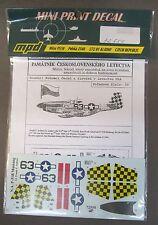 1/72 MPD Mini Print Decals 72-550 N.A. P-51B MUSTANG Lt. Frank Soltesz MFS