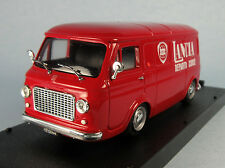 PROGETTO K Fiat 238 Lancia Racing Van (Red) 1/43 Scale Diecast Model NEW, RARE!