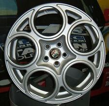 Kit 4 Cerchi in lega 17 pollici Alfa Romeo 147 156 GT GTA Sportwagon Q2 Q. Verde