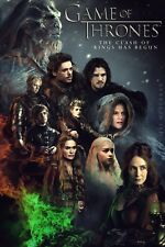 GAME OF THRONES WESTEROS FANTASY TV SHOW WALL ART CANVAS PICTURE PRINT 20X30""