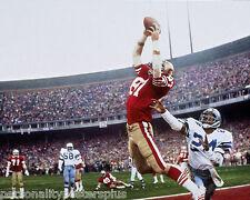"""San Francisco 49ers~Dwight Clark~Superbowl~Joe Montana~Photo~Poster~16"""" x  20"""""""
