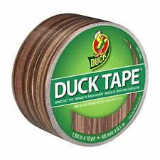 ShurTech Patterned Duck Tape 1.88-inch x 10yd-Woodgrain, Other, Multicoloured