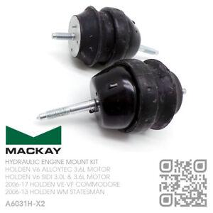 MACKAY HYDRAULIC ENGINE MOUNT SET V6 SIDI 3.6L [HOLDEN WM STATESMAN/CAPRICE]