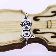 Authentic.925 SterlingSilverEuropean Style Fits PAN BRACELETS CHARM Monkey