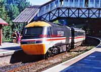 PHOTO  HST AT BODMIN PARKWAY RAILWAY STATION 1980S