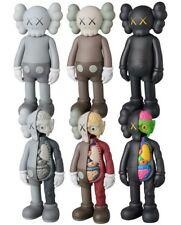 """KAWS COMPANION Half Dissected Gray BLACK Brown Red Flayed Open Edition 8"""" Figure"""