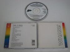 WHAM!/THE FINAL(EPIC CD EPC 88681) CD ALBUM