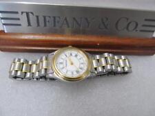 Tiffany & Co. Portfolio 18K Bezel Goldelectroplated Stainless Steel Ladies Watch