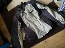 Mens textile motorcycle jacket used