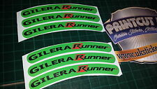 Gilera Runner Rim cinta Rueda Pegatinas Exclusivo 50, 125. 172, 180 183 Sp Vx St I