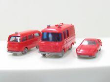 SPUR N Konvolut Feuerwehr Transit, Bus, Porsche NZ 512