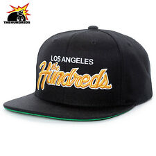 The Hundreds Team Two Snapback Baseball Cap Hat Black OS NWT $36 43€ Streetwear