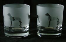 More details for great dane dog quality whisky glasses. boxed