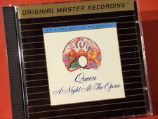 """MFSL-UDCD 568 QUEEN """" A NIGHT AT THE OPERA """" (MFSL-GOLD-CD/MADE IN USA/NEARMINT)"""