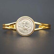 US 2012 Alaska Denali National Park Quarter $ Coin GP Bracelet