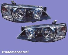 Ford Territory Black Head Lights Right Left 04 2005 2006 2007 2008 09 2010 2011