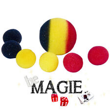 Fusion de balles en mousse - Tour magie éponge - Sponge color