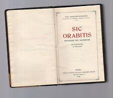 sic orabitis -preghiere del sacerdote -1928
