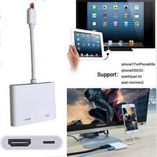 Lampe pour Digital AV TV CÂBLE HDMI ADAPTATEUR IPAD AIR iPhone 6 6S 7 7plus O