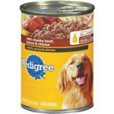 Pedigree Meaty Ground Dinner Wet Dog Food - 1 Can