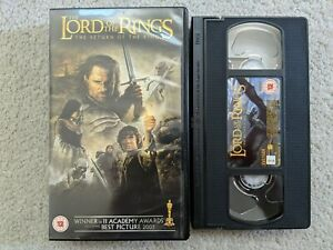 The Lord Of The Rings - The Return Of The King (VHS, 2004) Retro