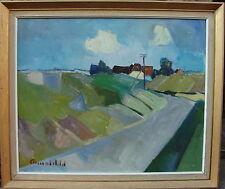 Arnold William Pedersen 1912-1986, expressive Landschaft, um 1950/60