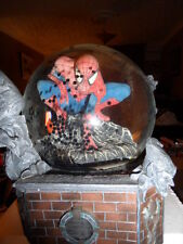SPIDERMAN MOTION GLOBE WITH SPIDERS NEW IN BOX GREAT ITEM