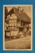 Peau Rhin 68 ALSACE alsace AK CPA Basse-ASPACH Aspach-le-Bas 1914-18 Maison WWI