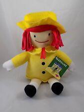 "Nwt Kohl's Cares Madeline Doll Yellow Red Hat Plush Stuffed Toy 14"" Character"