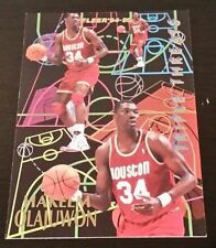 Hakeem Olajuwon Not Professionally Graded NBA Basketball Trading Cards