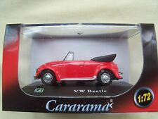 VW Beetle Red 1:72 Cararama