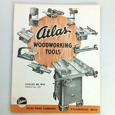1950 Atlas Wood Working Machine Tools Catalog Amp Price List W50 Michigan Usa
