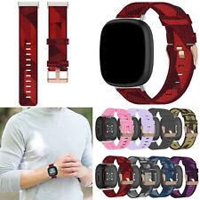 For Fitbit Versa 3/ Sense Smart Watch Band Soft Nylon Wrist Replacement Strap