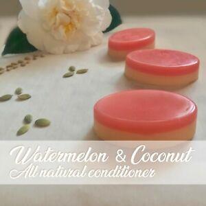 CONDITIONER_Natural_Nutrient rich_Watermelon & Coconut, Shea & Jojoba_Solid Bar