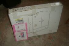 """JCPenny Doll Wood Wardrobe 22 1/4"""" Tall. Assembly reguired"""