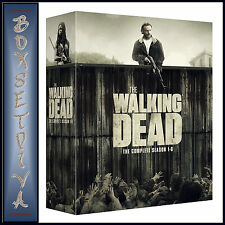 THE WALKING DEAD - COMPLETE SEASONS 1 2 3 4 5 & 6  *BRAND NEW DVD BOXSET**