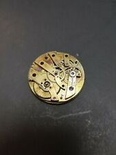 Pocketwatch Mechanism Parts Only No Brand