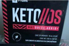 PRUVIT KETO OS NAT DULCE AGRIO MEXICAN KETONES 20 pk NEW