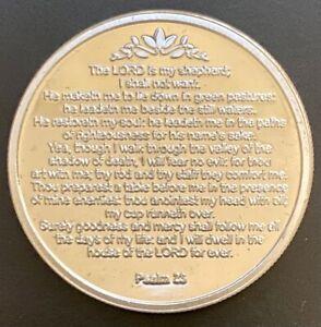 """PSALM 23"" 1 oz. .999 Silver Round/Engravable"