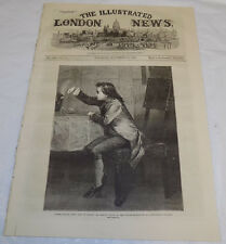 11/23/1867 Is. ILLUSTRATED LONDON NEWS/James Watt Discovers Steam/French in Rome
