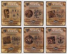 Emboss DecoEtch Die Stamping Plate for Vintaj Sizzix Bigkick Big Shot &Vagabond